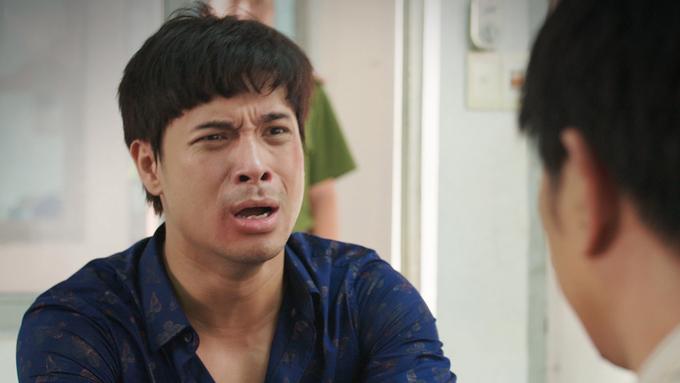 Cảnh phim của Thái Hòa gây xúc động