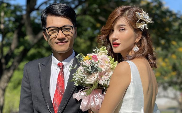 Kim Tuyến, Quang Tuấn đóng vợ chồng