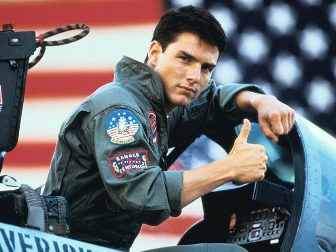 Tom Cruise nhận đóng 'Top Gun' sau chuyến bay nhào lộn